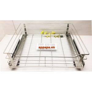 Phụ kiện tủ bếp kệ ray inox 304